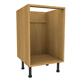 Cooke & Lewis Oak Effect Multi-Drawer Base Cabinet