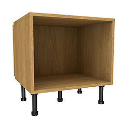 Cooke & Lewis Oak Effect Belfast Base Cabinet