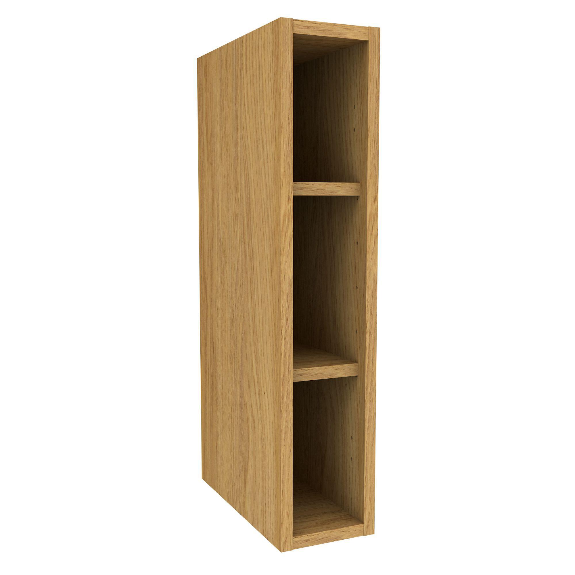 Cooke & Lewis Oak Effect Deep Wall Cabinet (w)150mm