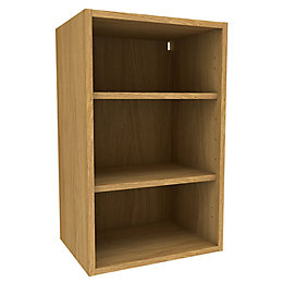 Cooke & Lewis Oak Effect Deep Wall Cabinet