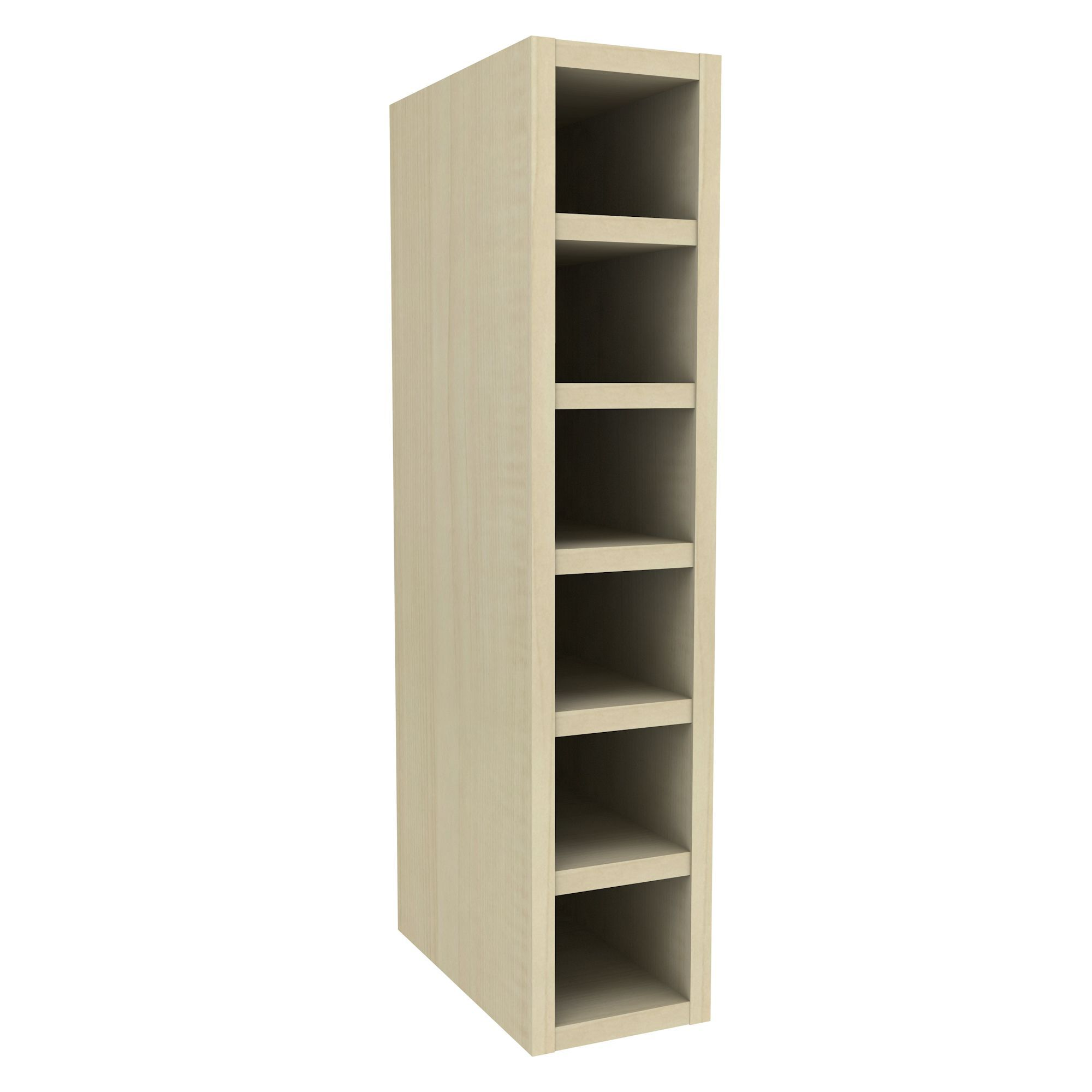 cooke u0026 lewis maple effect wine rack wall cabinet w150mm departments diy at bu0026q