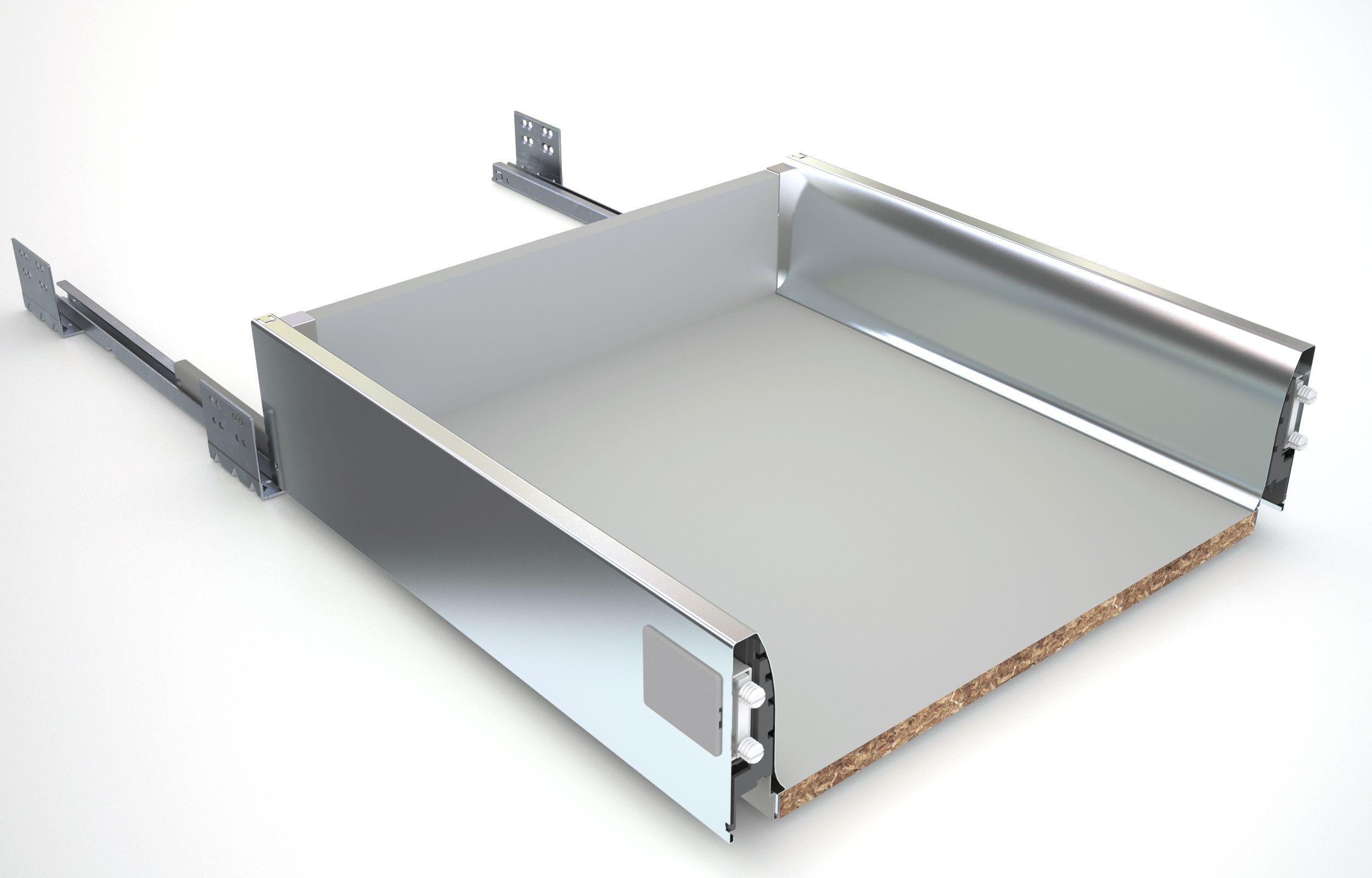 Kitchen Drawer Cabinets Premium Plus Soft Close Drawer Box W 500mm Departments