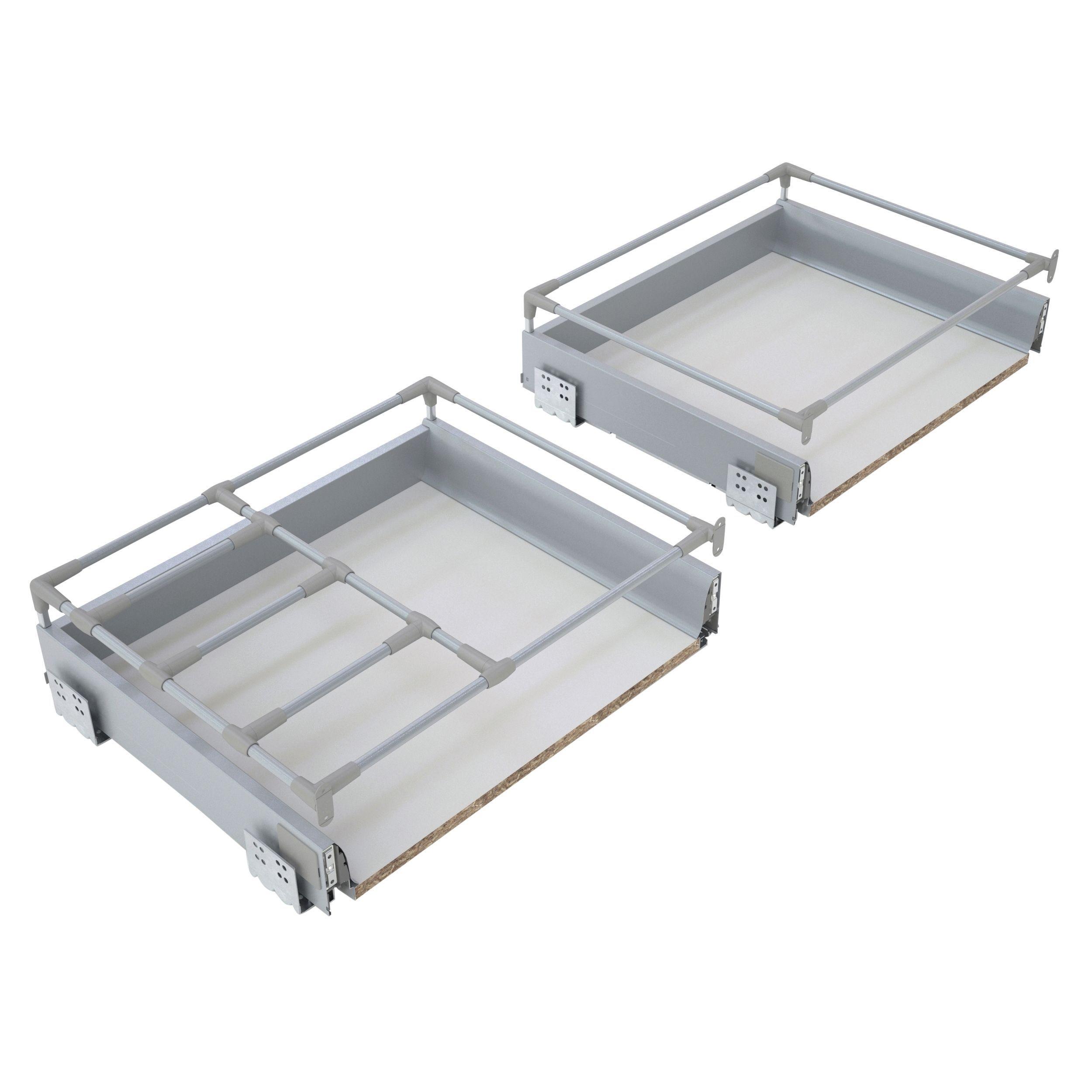 Cooke Lewis Premium Framed Soft Close Deep Drawer Box W 800mm Departments Diy At B Q
