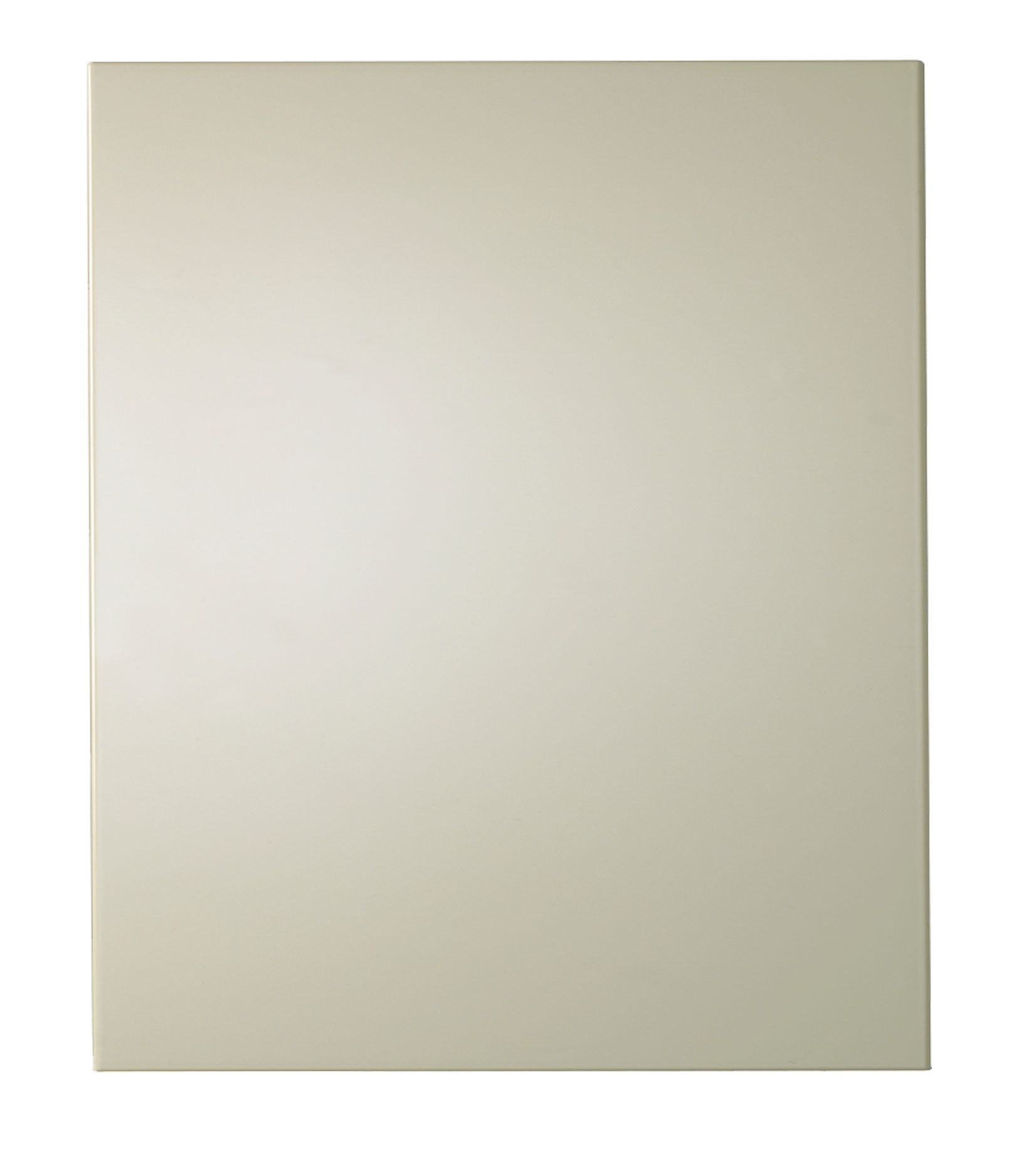 It Kitchens Santini Gloss Cream Slab Base End Replacement Panel 570 Mm