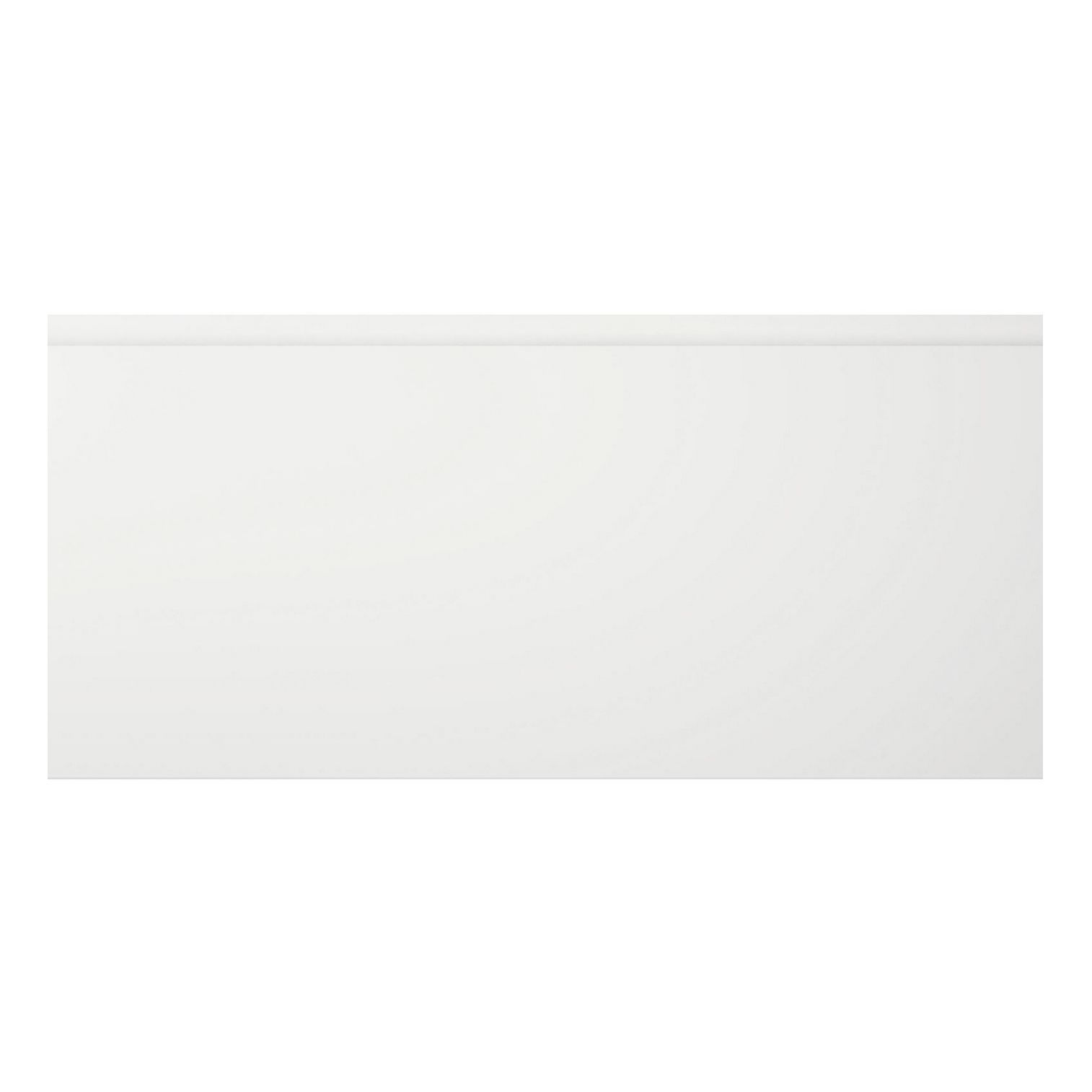 Cooke & Lewis Appleby High Gloss White Pan Drawer Front / Bi-fold Door (w)500mm