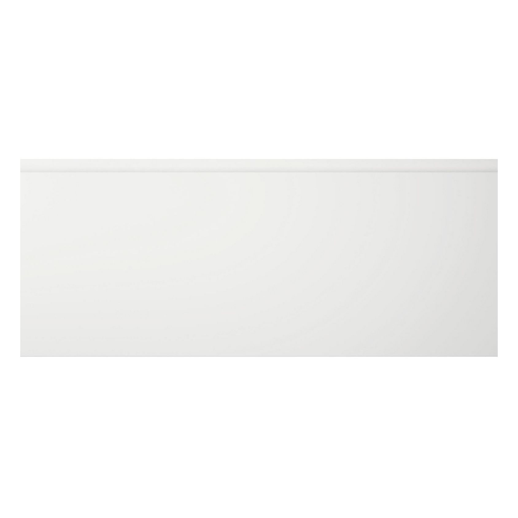 Cooke & Lewis Appleby High Gloss White Pan Drawer Front / Bi-fold Door (w)600mm