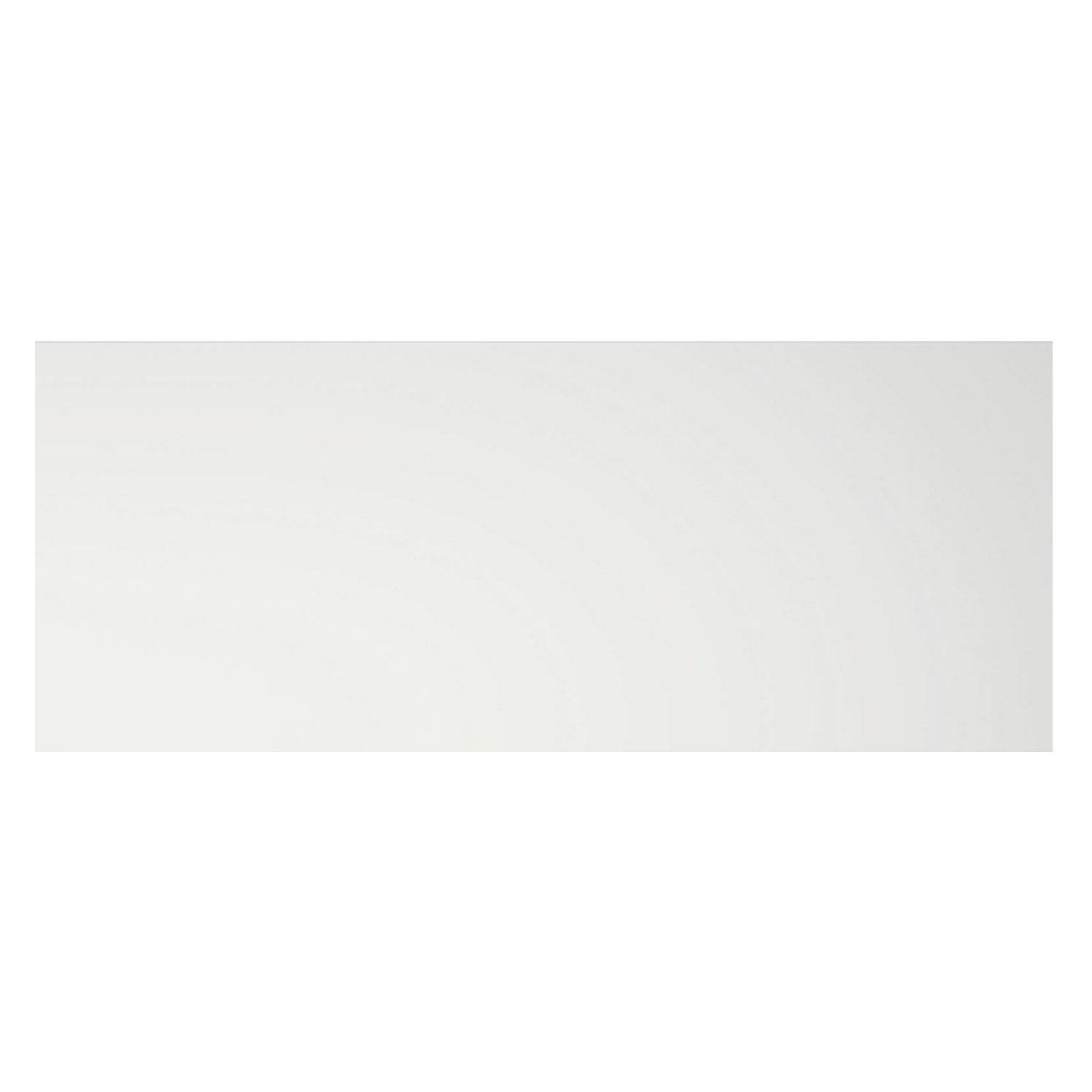 Cooke & Lewis Appleby High Gloss White Pan Drawer Front / Bi-fold Door (w)800mm