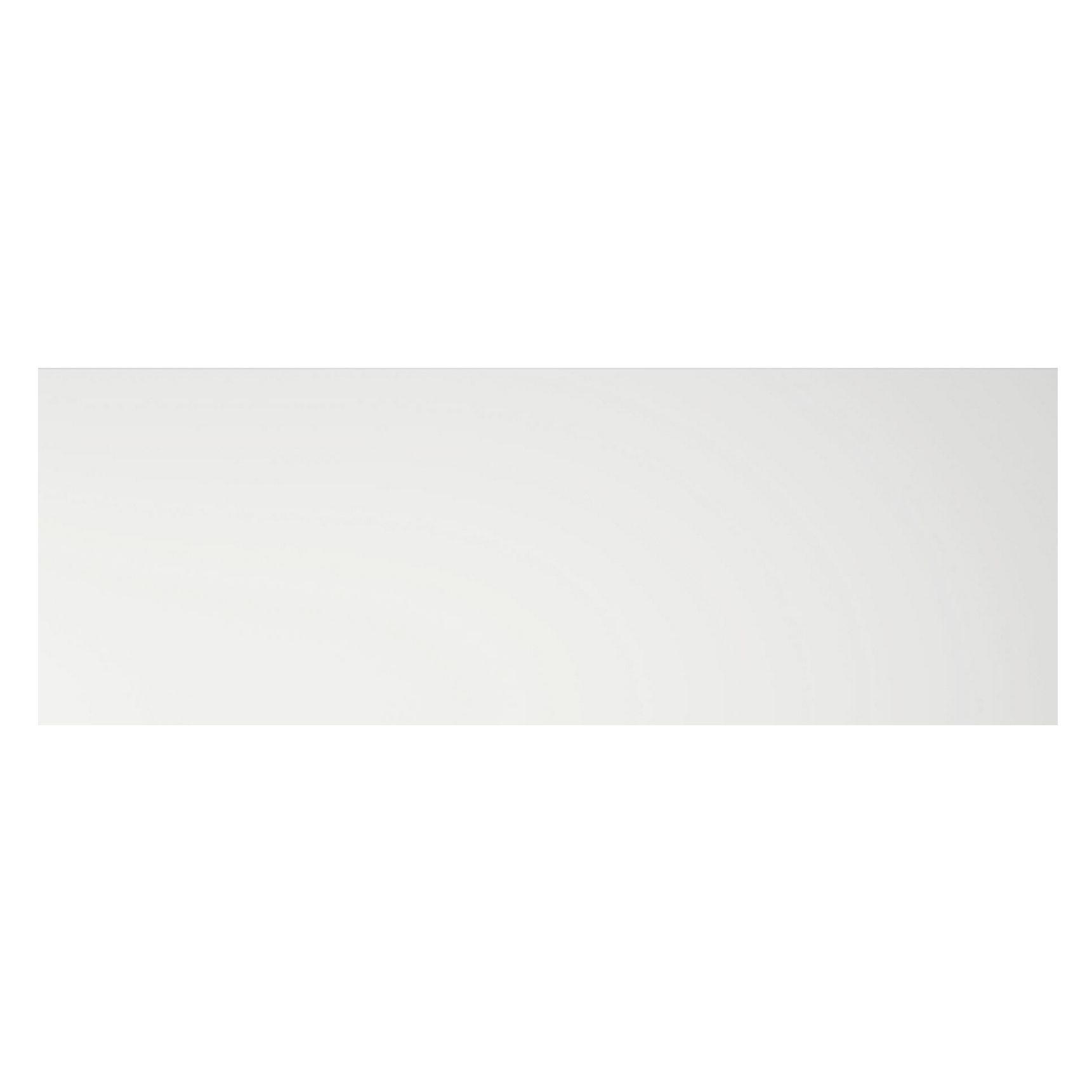 Cooke & Lewis Appleby High Gloss White Pan Drawer Front / Bi-fold Door (w)1000mm