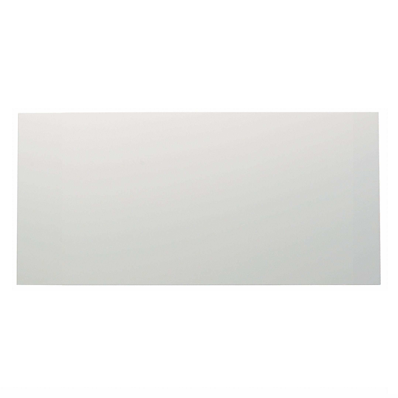 It Kitchens Santini Gloss White Slab Pan Drawer Front / Bi-fold Door (w)500mm
