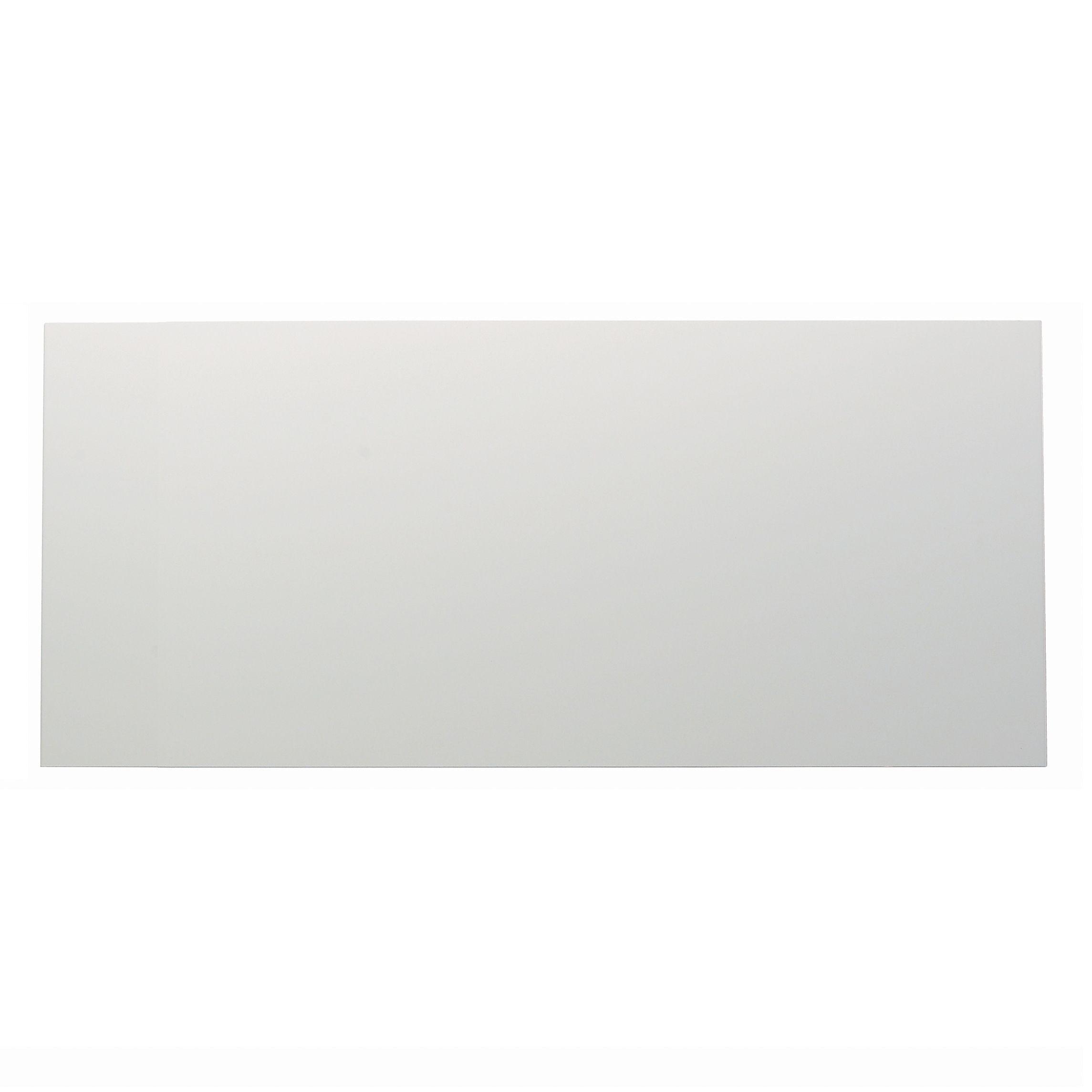 It Kitchens Santini Gloss White Slab Pan Drawer Front / Bi-fold Door (w)600mm