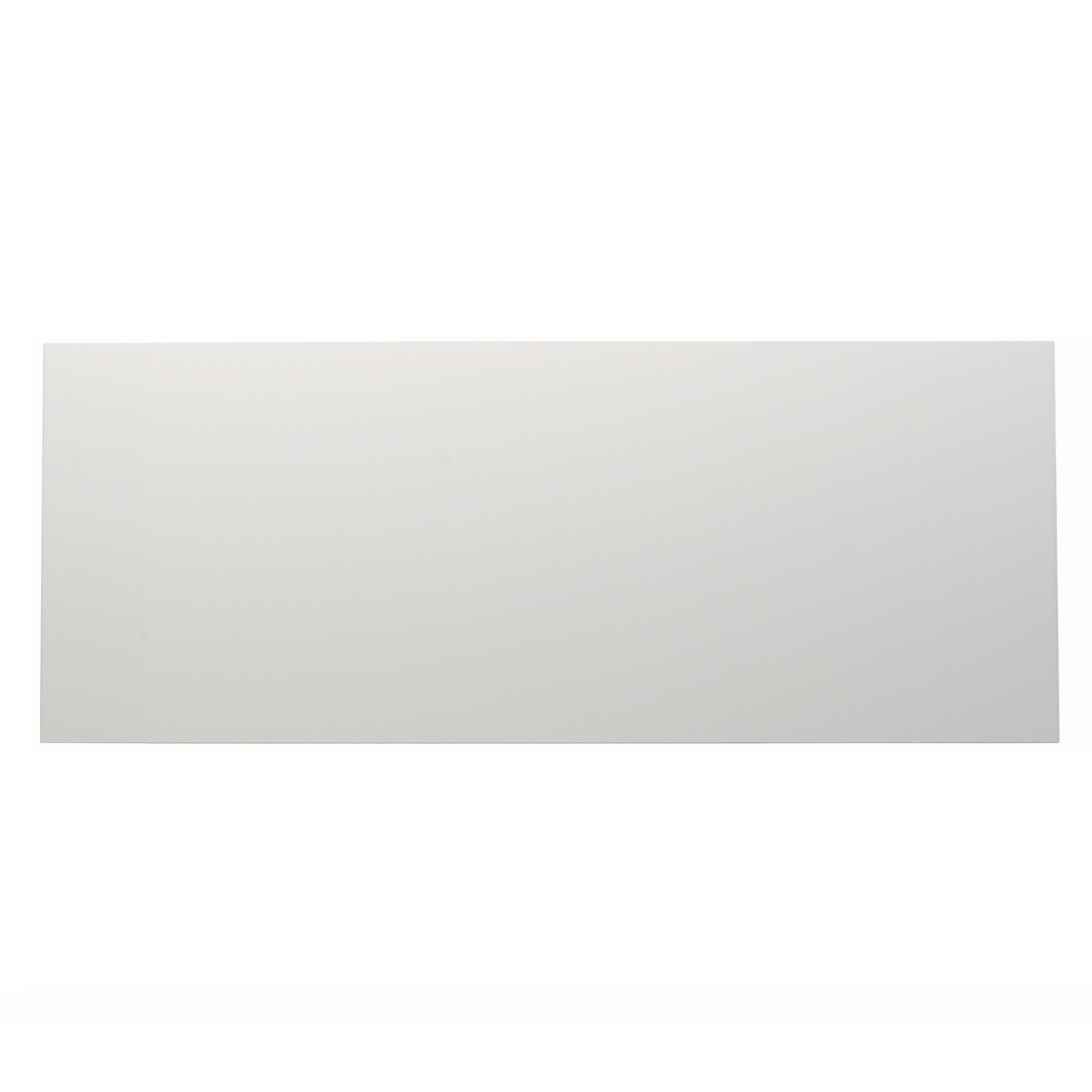 It Kitchens Santini Gloss White Slab Pan Drawer Front / Bi-fold Door (w)800mm