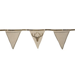 Colours Dasher Stag Bunting, (L)304cm