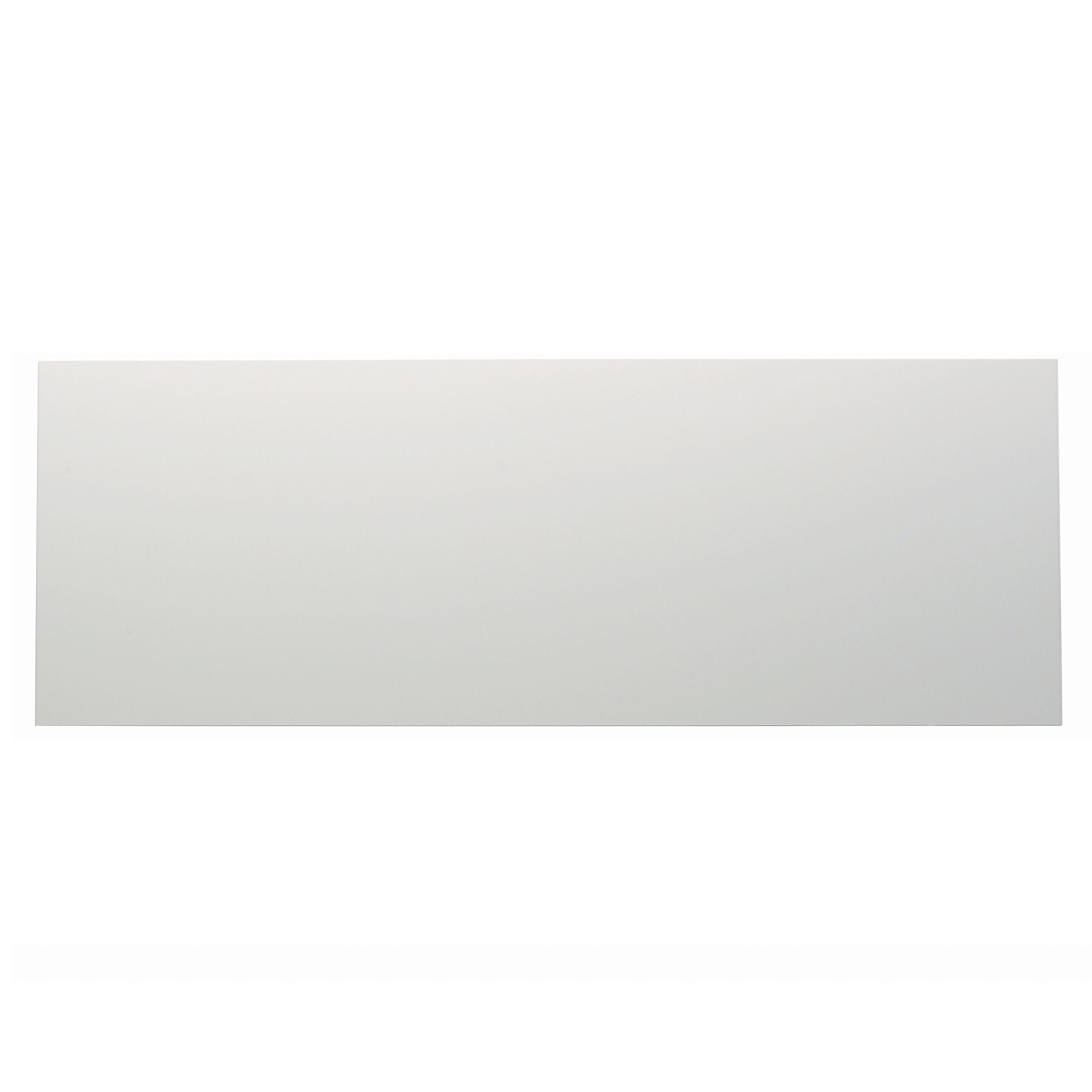 It Kitchens Santini Gloss White Slab Pan Drawer Front / Bi-fold Door (w)1000mm