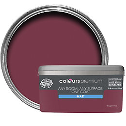 Colours Premium Bougainvillea Matt Emulsion Paint 2.5L