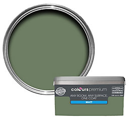 Colours Premium Lily Pad Matt Emulsion Paint 2.5L