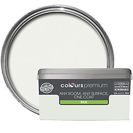 Colours Premium Cucumber Mist Silk Emulsion Paint 2.5L