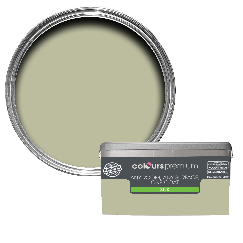 Colours Premium French Vine Silk Emulsion Paint 2 5l Departments Diy At B Q