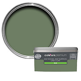 Colours Premium Lily Pad Silk Emulsion Paint 2.5L