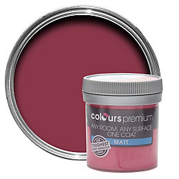 Colours Premium Bougainvillea Matt Emulsion Paint 50ml Tester