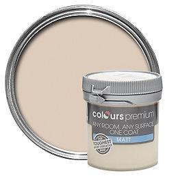 Colours Premium Organza Matt Emulsion Paint 50ml Tester