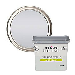 Colours Feature Wall Stardust Glitter Effect Emulsion Paint