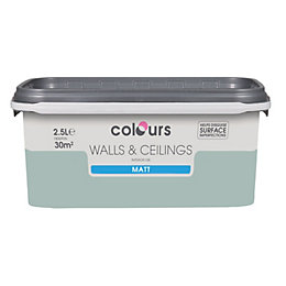 Colours Standard Eau De Nil Matt Emulsion Paint