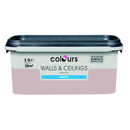 Colours Fairy Cake Matt Emulsion Paint 2.5L