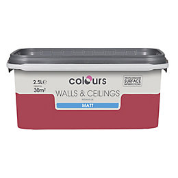 Colours Love Story Matt Emulsion Paint 2.5L