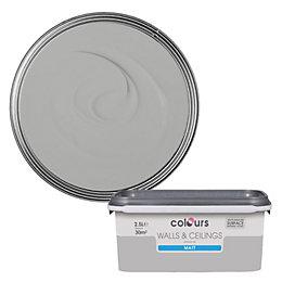 Colours Platinum Matt Emulsion Paint 2.5L