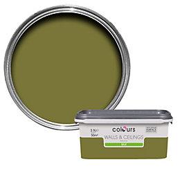Colours Conifer Silk Emulsion Paint 2.5L