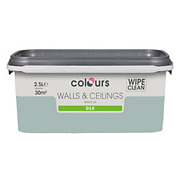 Colours Standard Eau De Nil Silk Emulsion Paint