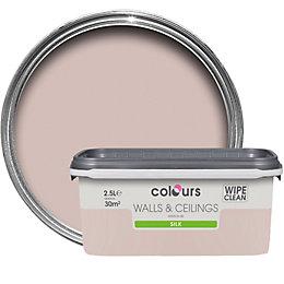 Colours Fairy Cake Silk Emulsion Paint 2.5L