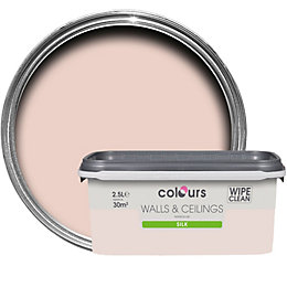 Colours Subtle Blush Silk Emulsion Paint 2.5L