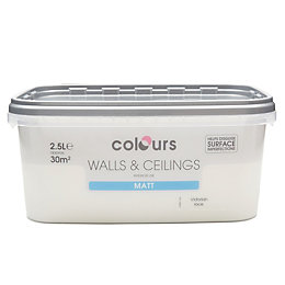 Colours Victorian Lace Matt Emulsion Paint 2.5L