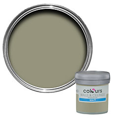 Colours Alep Matt Emulsion Paint 50ml Tester Pot
