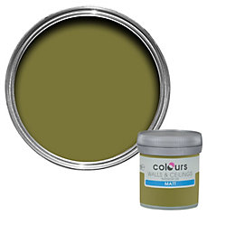 Colours Conifer Matt Emulsion Paint 50ml Tester Pot