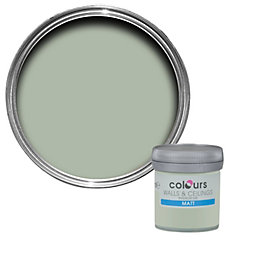 Colours Cut Grass Matt Emulsion Paint 50ml Tester
