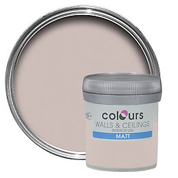 Colours Tester Fairy Cake Matt Emulsion Paint 0.05L