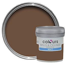 Colours Forest Floor Matt Emulsion Paint 50ml Tester