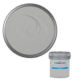 Colours Platinum Matt Emulsion Paint 50ml Tester Pot
