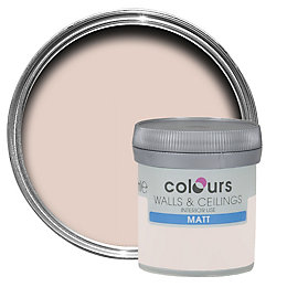 Colours Subtle Blush Matt Emulsion Paint 50ml Tester