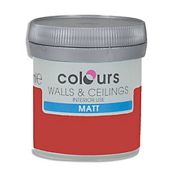 Colours Ladybug Matt Emulsion Paint 50ml Tester Pot