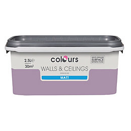 Colours Violette Matt Emulsion Paint 2.5L
