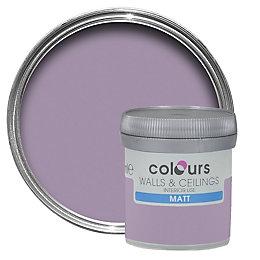 Colours Violette Matt Emulsion Paint 50ml Tester Pot