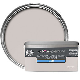 Colours Premium Pebble Shore Matt Emulsion Paint 2.5L