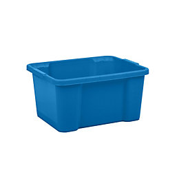 Form Storage Boxes Blue 30L Plastic Storage Box