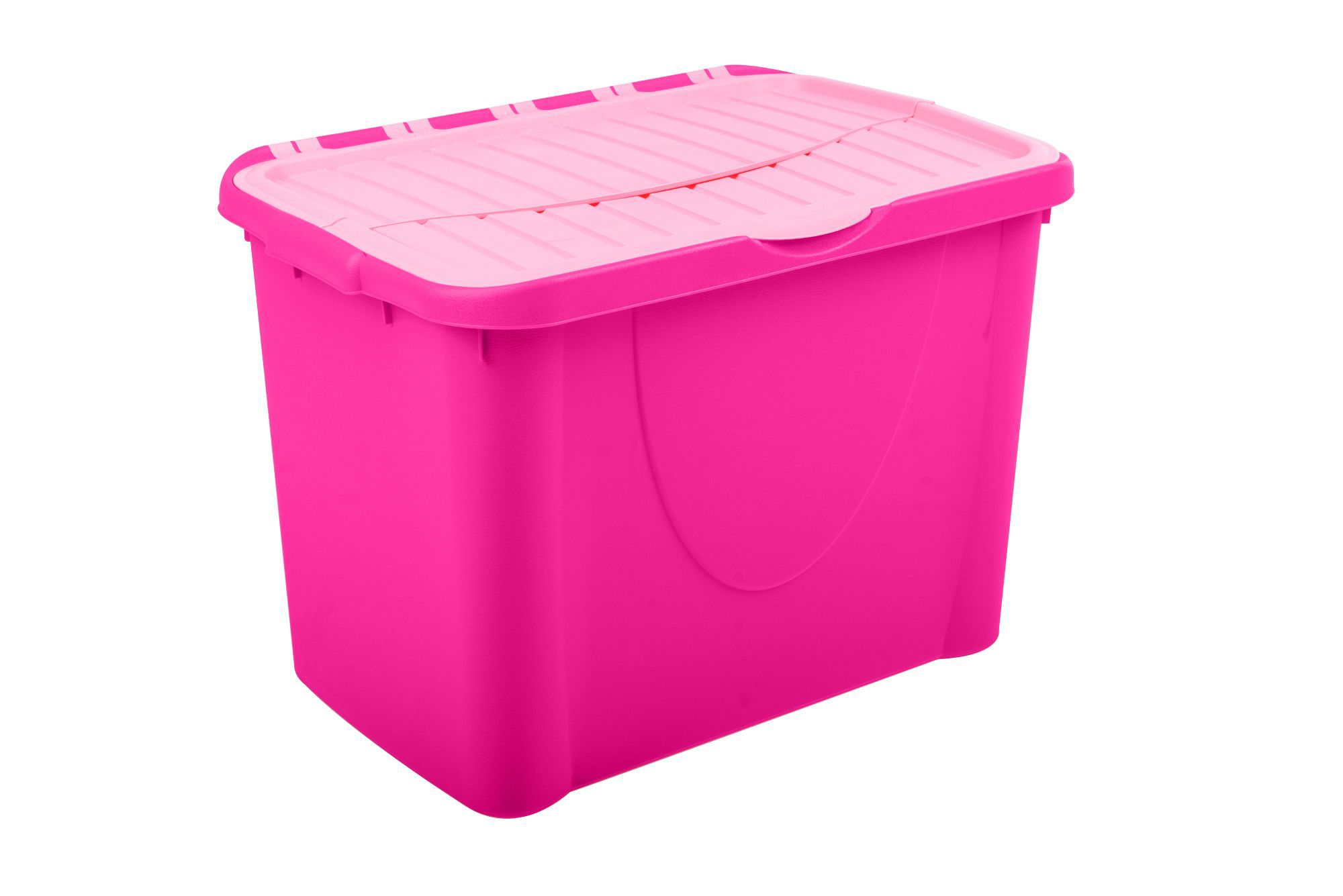 form storage boxes pink 60l plastic storage box departments diy at b q. Black Bedroom Furniture Sets. Home Design Ideas