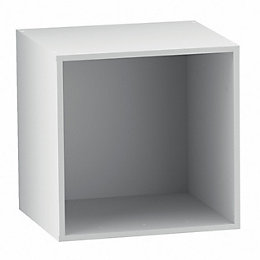 Form Konnect White 1 Cube Shelving Unit (H)352mm