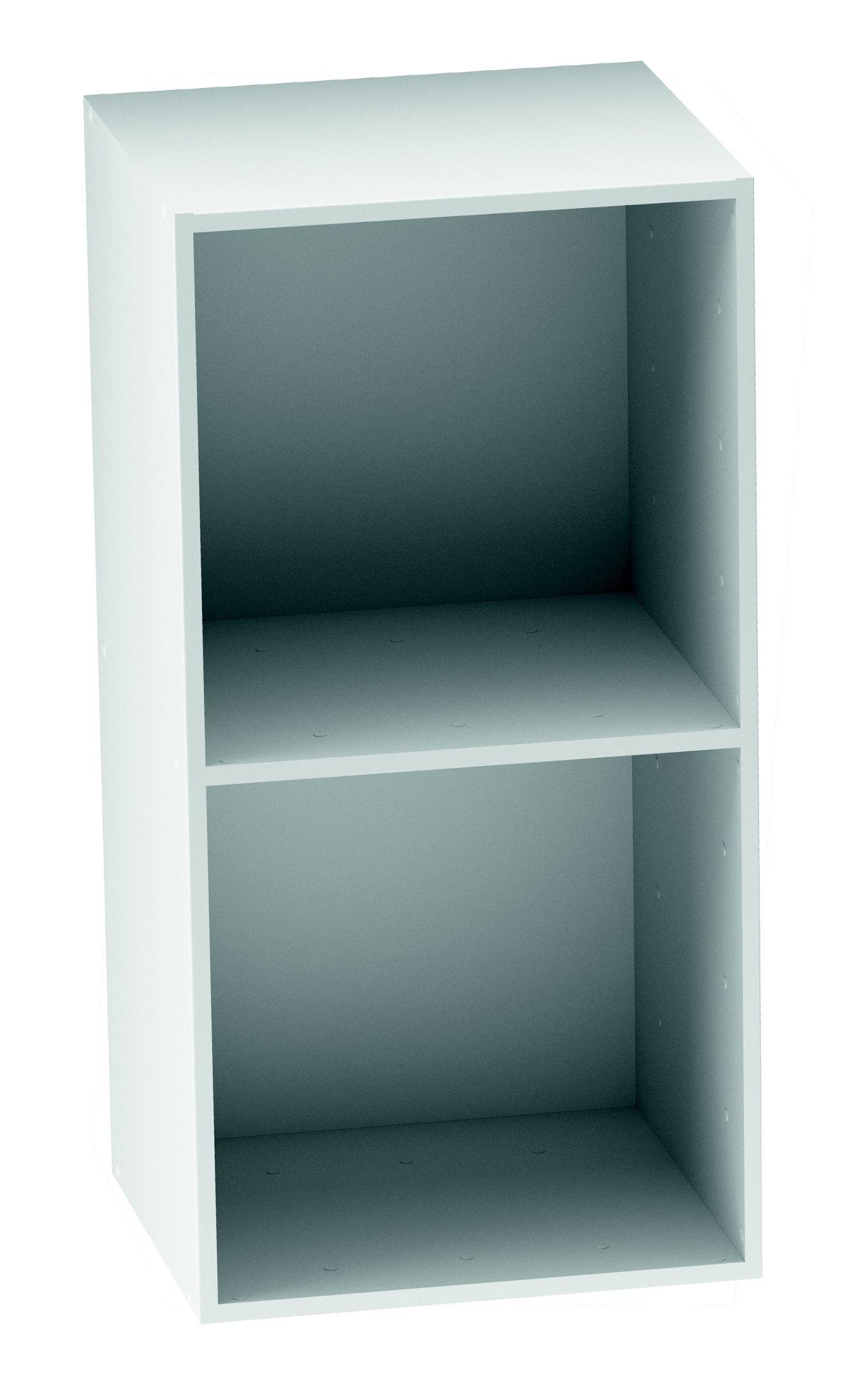 Form Konnect White 2 Cube Shelving Unit (h)692mm (w)352mm  sc 1 st  DIY at Bu0026Q & DIY at Bu0026Q