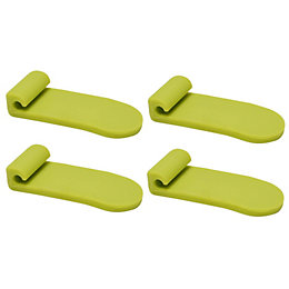 Form Twinslot Lime Green Storage Basket Tab (W)2.1cm
